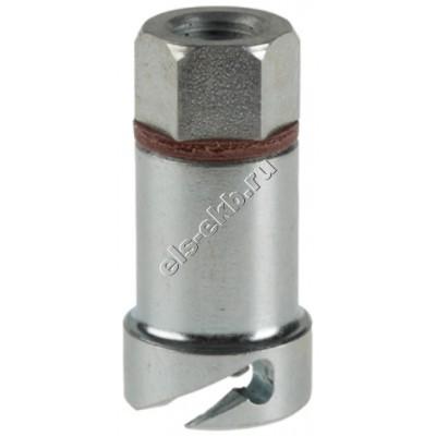 Насадка смазочная для байонетных пресс-масленок Ø9,9 мм PRESSOL, арт. 12013 (М10x1, 400 атм)
