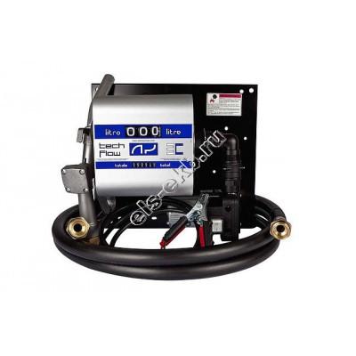 Мини АЗС для дизельного топлива ADAM PUMPS WALL TECH 12-40 (Qmax=40 л/мин; 12В)