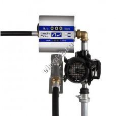 Комплект бочковой для дизельного топлива электрический ADAM PUMPS DRUM TECH 230-60-TF (Qmax=60 л/мин, 220В, со счетчиком)