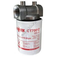 "Фильтр патронный для топлива CIM-TEK 300-30, арт. 70012-1""-12UNF (Qmax=80 л/мин; 30 мкм)"