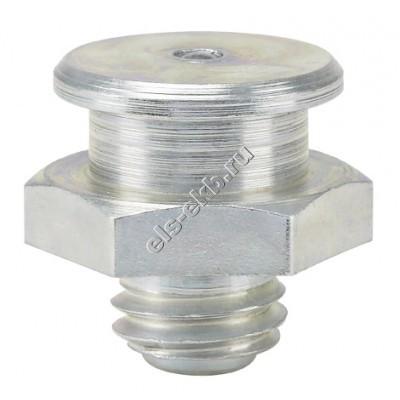 Пресс-масленка плоская M1, Ø 16 mm, оцинкованная закаленная сталь PRESSOL М10x1,5 VZ, SK, SW 17, RK, арт. 57815