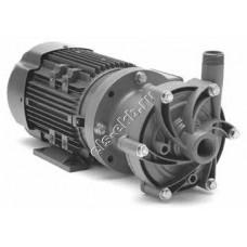 Насос центробежный с магнитной муфтой FINISH THOMPSON DB-6HV с э/д 0,75 кВт (PVDF; Qmax=9 м³/час; Hmax=14 м; 380В; 0,75 кВт)