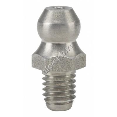 Пресс-масленка коническая прямая H1, нержавеющая сталь PRESSOL М5x0,8 VA, SK, SW 7, арт. 15906