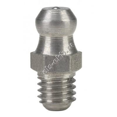 Пресс-масленка коническая прямая H1, нержавеющая сталь PRESSOL М6x1 VA, SK, SW 7, арт. 15907