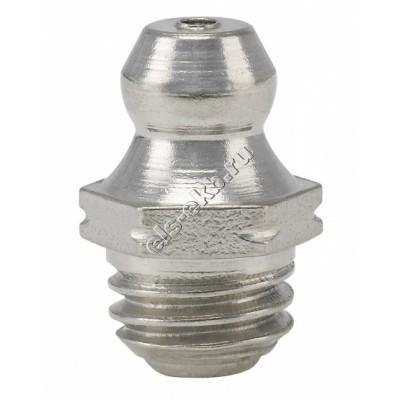 Пресс-масленка коническая прямая H1, нержавеющая сталь PRESSOL М8x1,25 VA, SK, SW 9, арт. 15910
