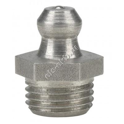 Пресс-масленка коническая прямая H1, нержавеющая сталь PRESSOL М10x1 VA, SK, SW 11, арт. 15913