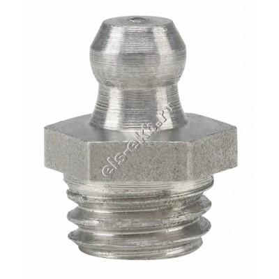 Пресс-масленка коническая прямая H1, нержавеющая сталь PRESSOL М10x1,5 VA, SK, SW 7, арт. 15915