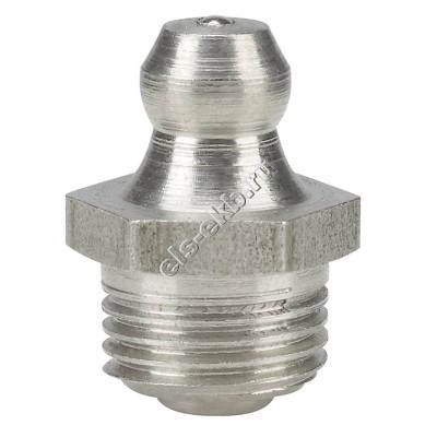 """Пресс-масленка коническая прямая H1, нержавеющая сталь PRESSOL G 1/8"""" VA, SK, SW 11, арт. 15937"""