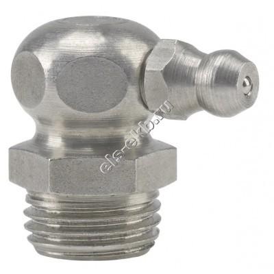 """Пресс-масленка коническая угловая 90° H3, нержавеющая сталь PRESSOL G 1/4"""" VA, SK, SW 9, арт. 15977"""