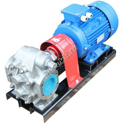 Насос шестеренный АМПИКА НШ-18,0/3,6К (Qmax=18 м³/час; Pmax=3,6 атм; 5,5 кВт; 380В)