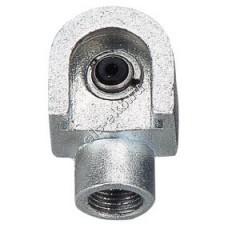 """Насадка смазочная для плоских пресс-масленок типа М1, Т1 и Т1/В Ø16 мм GROZ HOC/1/B, арт. 43574 (1/8"""" BSPT, 204 атм)"""