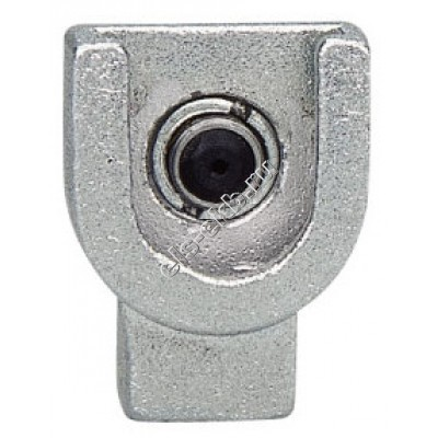 """Насадка смазочная для плоских пресс-масленок типа М1, Т1 и Т1/В Ø16 мм GROZ PCN/1/B, арт. 43577 (1/8"""" BSPT, 204 атм)"""