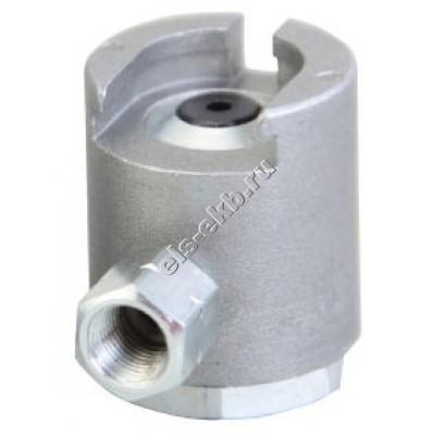 """Насадка смазочная для плоских пресс-масленок типа М1, Т1 и Т1/В Ø16 мм GROZ PCN/3/B, арт. 43579 (1/8"""" BSPT, 408 атм)"""
