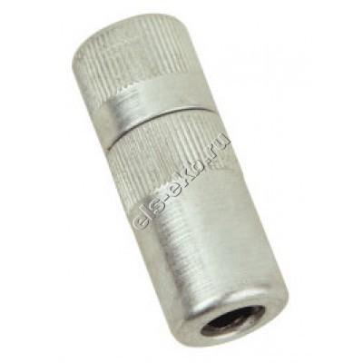 """Насадка смазочная для конических пресс-масленок типа Н GROZ HC/19/3/B, арт. 43590 (1/8"""" BSPT, 680 атм, тонкая, Ø13,7 мм)"""