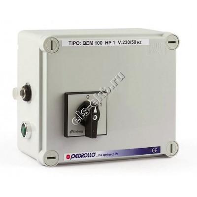 """Пульт управления для 4"""" погружных насосов PEDROLLO QEM 075 (220В; 0,55 кВт)"""