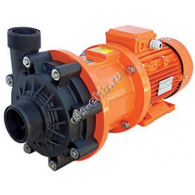 Насос центробежный с магнитной муфтой ALPHADYNAMIC ADM 40-PVDF, арт. S121-1057 (PVDF; Qmax=42 м³/час; Hmax=31 м; 380В; 4 кВт)
