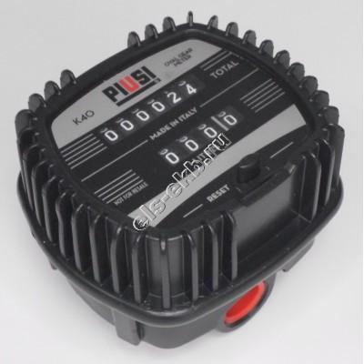 Счетчик механический PIUSI K40 LT/BSP, арт. F00490020 (1-30 л/мин; масло, биодизель)