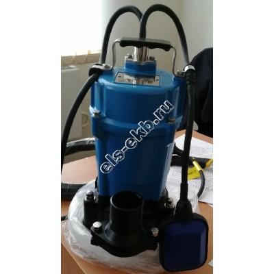 Насос дренажный SOLIDPUMP 80PSM0,75F с агитатором и поплавковым выключателем (Qmax=18 м³/час; Hmax=17 м; 220В; 0,75 кВт)