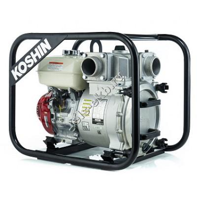Мотопомпа дизельная KOSHIN KTY-100D (Qmax=99 м³/час; Hmax=25 м; DN 100; двигатель: Yanmar L100N6)