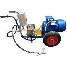 Опрессовщик электрический АМПИКА ЕНА 11-500 (Pmax=500 атм; Qmax=11 л/мин; 380В; на тележке)