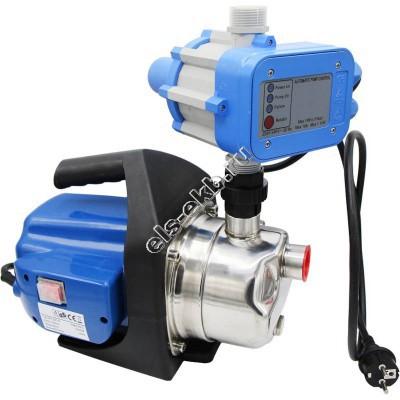Насосная станция АМПИКА AGP1201S (Qmax=3,5 м³/час; Hmax=45 м; 220В; 1,1 кВт; с блоком контроля потока)