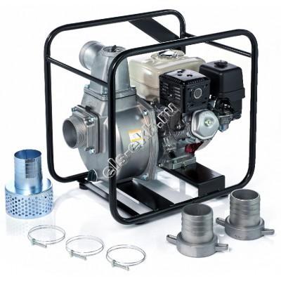Мотопомпа бензиновая для слабозагрязненной воды KOSHIN SEH-100X (Qmax=87 м³/час, Hmax=28 м, DN 100, двигатель: Honda GX240)