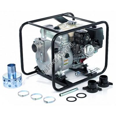 Мотопомпа бензиновая KOSHIN KTH-80X o/s (Qmax=80,4 м³/час; Hmax=27 м; DN 80; двигатель: Honda GX240; с датчиком уровня масла)