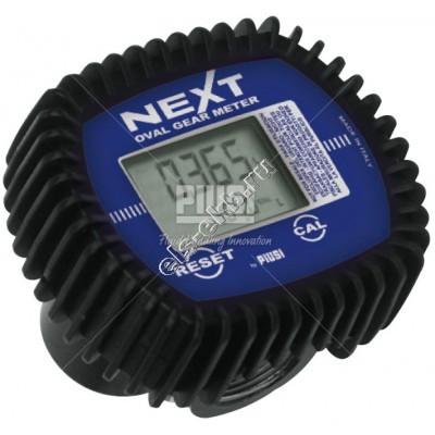 Счетчик электронный PIUSI NEXT/2, арт. F00486150 (6-60 л/мин; масло, дизель, биодизель)