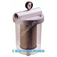 """Фильтр с колбой для бензина, керосина, дизельного и авиационного топлива GESPASA FG-150, арт. 66050 (Qmax=160 л/мин; 5 мкм; 1 1/2"""" BSP; с влагоотделением)"""