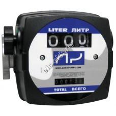 Счетчик механический ADAM PUMPS MAT FLOW 3C, арт. MF3 (20-120 л/мин; дизтопливо)