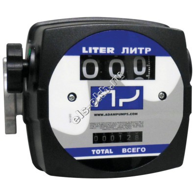 Счетчик механический ADAM PUMPS MAT FLOW 3C, арт. MF3 (20-120 л/мин, дизтопливо)