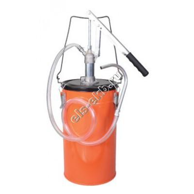 Маслонагнетатель ручной GROZ OLP/12, арт. 44180 (с баком 12 л, переносной)