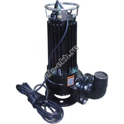 Насос фекальный погружной АМПИКА ЦМФ 50-10 РМ_380В с измельчителем (Qmax=80 м³/час; Hmax=20 м; 380В; 4 кВт)