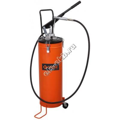 Нагнетатель смазки ручной GROZ VGP-20, арт. 44293 (с переключателем давления, с емкостью 20 л)