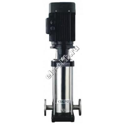 Насос многоступенчатый CNP CDL12-8, арт. CDL12-8F1SWPC (Qmax=16 м³/час, Hmax=94 м, 380В, 5,5 кВт, чугун, t≤70°C)