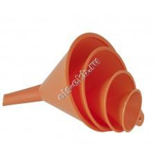 Набор воронок пластиковых для топлива и масла PRESSOL, арт. 02360 (Ø50-75-100-120 мм; 0,05–0,09–0,25-0,27 л)