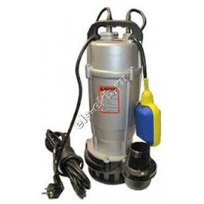 Насос дренажный погружной ГНОМ 16-16_220В с поплавком (Qmax=26 м³/час; Hmax=16,5 м; 220В; 1,1 кВт; кабель 10 метров с вилкой)