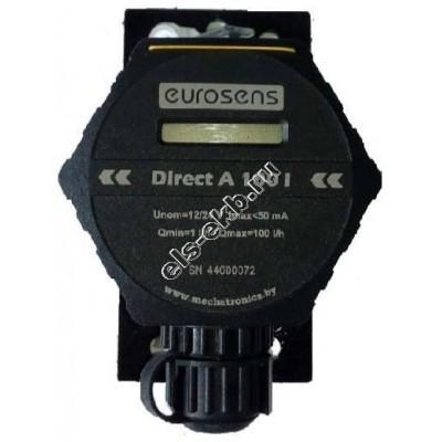 Счетчик электронный МЕХАТРОНИКА Eurosens Direct А 100 I (0,017-1,67 л/мин; автономный; дизтопливо)