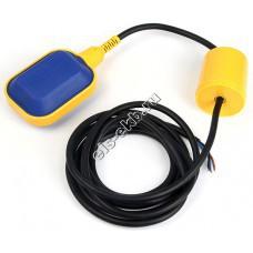 Выключатель поплавковый PEDROLLO 0315/5 PVC (12-250В, кабель 5 метров)