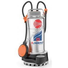 Насос дренажный погружной PEDROLLO Dm 8 с поплавком (Qmax=15 м³/час, Hmax=13 м, 220В, 0,55 кВт, кабель 5 метров с вилкой)