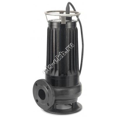 Насос фекальный погружной АМПИКА ЦМФ 85-13 РМ_380В с измельчителем (Qmax=120 м³/час; Hmax=27 м; 380В; 7,5 кВт)