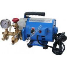 Насос опрессовочный электрический САТУРН НИЭ-6-60 (Pmax=60 атм, Qmax=6 л/мин, 220В, с баком 20 л)