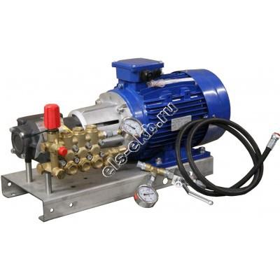 Насос опрессовочный электрический АМПИКА EHA 15-250 (Pmax=250 атм; Qmax=15 л/мин; 380В; для тяжелых режимов)