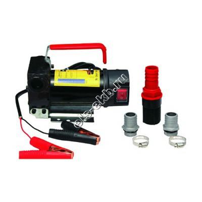 Насос лопастной поверхностный для дизельного топлива электрический UNILUBE KE2012 (Qmax=45 л/мин, Hmax=5 м, 12В)