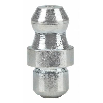 Пресс-масленка коническая прямая H1 A, оцинкованная закаленная сталь заколачиваемая PRESSOL Ø 6 мм VZ-круглая-ESN, арт. 15003