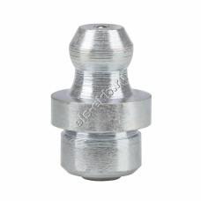 Пресс-масленка коническая прямая H1 A, оцинкованная закаленная сталь заколачиваемая PRESSOL Ø 8 мм VZ-круглая-ESN, арт. 15004