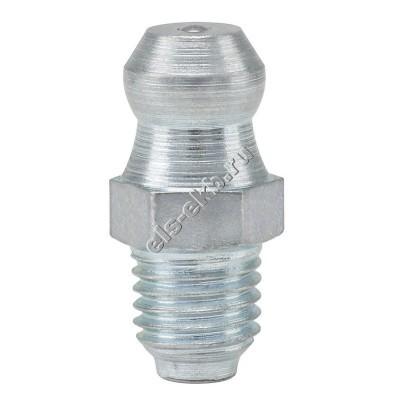 Пресс-масленка коническая прямая H1, оцинкованная закаленная сталь PRESSOL М6x0,75 VZ, SK, SW 7, арт. 15006