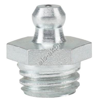 Пресс-масленка коническая прямая H1, оцинкованная закаленная сталь PRESSOL М12x1,75 VZ, SK, SW 14, арт. 15018