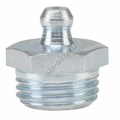 Пресс-масленка коническая прямая H1, оцинкованная закаленная сталь PRESSOL М16x1,5 VZ, SK, SW 17, арт. 15023