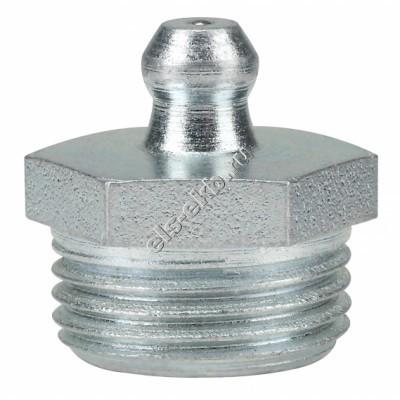 """Пресс-масленка коническая прямая H1, оцинкованная закаленная сталь PRESSOL G 3/8"""" VZ, SK, SW 17, арт. 15039004"""